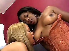 black lesbian angels make oral sex