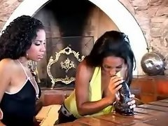 Pretty ebony lesbians with narrow pussies